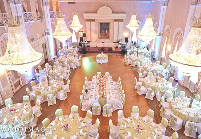 Grand Ballroom Aearial Shot